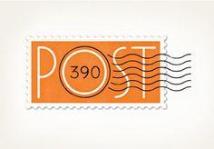Post 390 – a restuarant in Boston, Louise Fili Ltd.