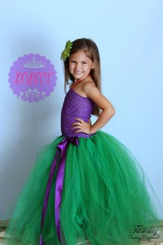 SALEPrincess+ArielThe+Little+Mermaid+dress+by+by+MsMadelinesTutus,+$35.00