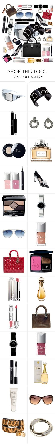 """""""Dior Accessories"""" by kotnourka ❤ liked on Polyvore featuring Christian Dior"""