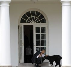 A warm welcome at the White House
