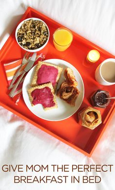 The perfect breakfast in bed tasters to give mom on Mother's Day. Get 20% off through Mother's Day 5/11 with code HAPPYMOM20