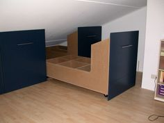 If you are lucky enough to have an attic in your home but haven't used this space for anything more than storage, then it's time to reconsider its use. An attic Attic Bedroom Storage, Attic Closet, Attic Bedrooms, Closet Bedroom, Attic Bathroom, Attic Office, Eaves Storage, Loft Storage, Office Storage