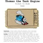 Free!  Thomas the Train Ticket to Ride fun reinforcer thanks to carrie's speech corner tpt
