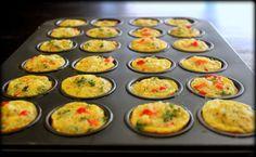 Recipe: Quinoa, Egg & Veggie Breakfast Bites (and a Breakfast Challenge!) - Poor Girl Eats Well