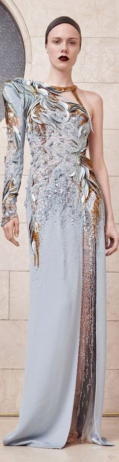 Fall 2017 Haute Couture Atelier Versace Occasion Dresses, dress, clothe, women's fashion, outfit inspiration, pretty clothes, shoes, bags and accessories