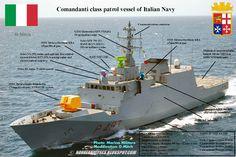 Comandanti Class Patrol Vessel of Italian Navy