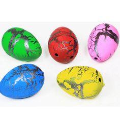 HEY LUCU 5 pcs/lot anak-anak Baru Lucu Kotak Mainan Anak Mainan Air Besar Telur Dinosaurus Ekspansi Penetasan Telur hewan mainan anak-anak