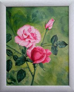 Original Floral Painting by Costin Cristian Istian Oil On Canvas, Canvas Art, Original Artwork, Original Paintings, Buy Art, Saatchi Art, Fine Art, The Originals, Roses