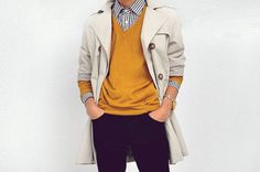 simple outfit. great color combos.