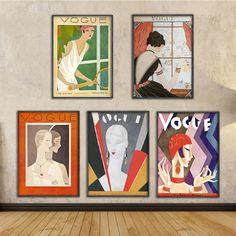 """""""Vintage Cuadros Vogue Figure Quotes Posters and Prints Canvas Wall Pop Art Black and White Painting Nordic Decorative Picture"""" Canvas Poster, Canvas Art Prints, Canvas Wall Art, Poster Wall, Art Pop, Nordic Art, Nordic Style, Black And White Painting, Black White"""
