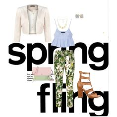 """Spring Fling"" by shellishells on Polyvore"