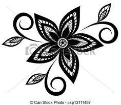 Wektor - czarnoskóry, biały, kwiatowy, próbka - zbiory ilustracji, ilustracje royalty free, zbiory ikon klipart, zbiór ikon klipart, logo, sztuka, obrazy EPS, obrazki, grafika, grafik, rysunki, rysunek, obrazy wektorowe, projekt graficzny, EPS wektor graficzny