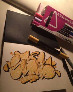 @graphmastermarker 👌#causeturk #stilbaz #balcans #abk #style #throwup #sketch #graffiti #graffart #instagraff #art #graphmastermarker #pencil #drawing #blackbook #bursa #turkey