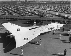 Avro Arrow (RL-201) Military Jets, Military Aircraft, Fighter Aircraft, Fighter Jets, Avro Arrow, Canadian History, Vintage Airplanes, Canada Day, Aviation Art