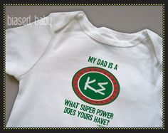 Kappa Sigma baby outfit . . .cute but not as cute as the one that says Future Kappa Sigma on it =)