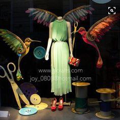 WEBSTA @ joy_dream_creator - #bird_crafts #button #scissors ✂️…