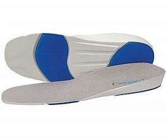 Anti-Shox Sports Orthotics - Womens 9 - 10.5 by Aetrex. $16.95. Anti-Shox Gel for extra protection.. Sold in pairs.. Biochemically designed to support the longitudinal arch.. Comforts heel pain and relieves ball-of-foot discomfort.. Designed to absorb shock.. Designed by a doctor to provide comfort and stability while walking or running. The insoles feature a patented heel cup, longitudinal arch support and a soft metatarsal cushion to protect your ball-of-foot. Made w...
