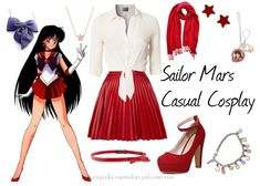 Cosplay Every Day: - casual - sailor mars