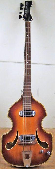 Perlgold semi-hollow Bass --- https://www.pinterest.com/lardyfatboy/