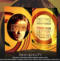 Flyer Template — Photoshop PSD #dance #event • Available here →…
