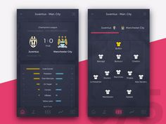 Football Application Concept by if you want to be featured! : Football Application Concept by if you want to be featured! Web Design Mobile, App Ui Design, User Interface Design, Apple Store, Sports App, App Design Inspiration, Apps, Mobile Ui, Sketch Photoshop