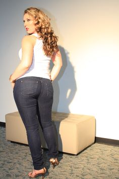 Skinny Jeans for Curvy Girls