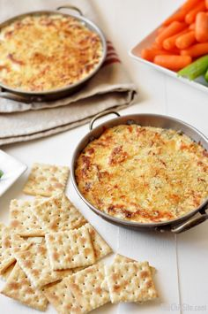 Baked Jalapeño Cheese Dip Recipe Idea ~ for your next party