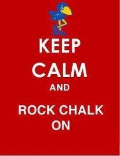 Rock Chalk Jayhawk KU  Rock Chalk Jayhawk KU  Rock Chalk Jayhawk KU