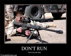 50 cal sniper rifle.
