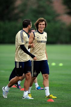 David Luiz Photos: Chelsea FC Training Session Prior To The 2012 MLS All-Star Game