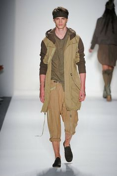Natural hues at NYC Fashion Week 2014 Nicholas K Spring 2014 collection