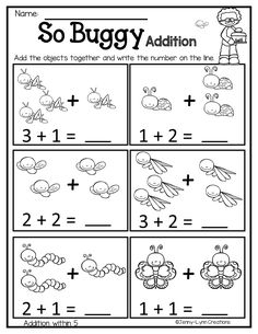 March Math & Literacy Breeze into spring with this March themed math and literacy packet! There are worksheets with a Math Addition Worksheets, English Worksheets For Kindergarten, Kindergarten Math Worksheets, Math Literacy, Math Activities, Math Math, Numbers Preschool, Preschool Math, Early Math