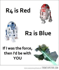 Geek Love Poem… #starwars