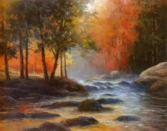 Rocks and Stream Prints by T. C. Chiu at AllPosters.com