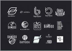 RECHERCHES LOGO #paillote #bamboo #logo #design #illustrator #photoshop #flyer #summer #france #montpellier