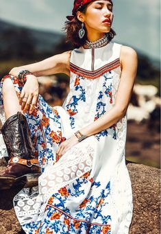 8e74faa26b4676 As Floral Embroidered Summer Dress Boho Fashion Summer