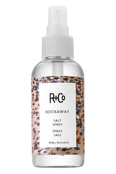 R+Co Rockaway salt spray, for a beachy look even in Autumn.