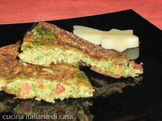 ricetta frittata patate ortiche speck