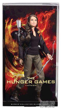 Hunger Games Katniss Barbie Collector -