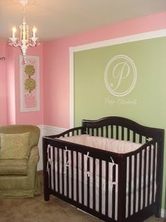Partial accent wall? I like it. But not for a baby room haha. That does not apply to my life.