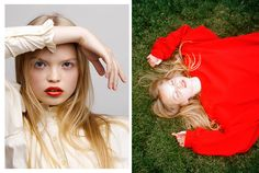 Photography: Daria Kobayashi RitchFashion: Tiff Horn Hair & Make-up: Amy Strozzi @ TMG-LAModel: Nastya @ Freedom