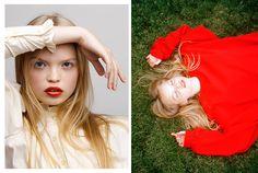 Photography: Daria Kobayashi RitchFashion: Tiff Horn Hair & Make-up: Amy Strozzi @ TMG-LAModel: Nastya @ Freedom