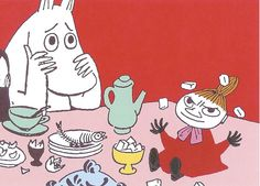 Moomin: Moomin illustrations.