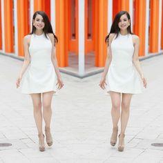 miami daze #afewweeksago Sabrina Carpenter, Dove Cameron, Fancy Dress, Dress Up, High Neck Dress, Selena, Sophia Carson, Formal Looks, Beautiful Celebrities