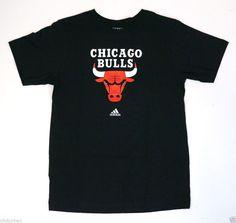 Adidas Men's Basketball T-shirt Chicago Bulls Original logo THE GO-TO Tee #adidas #ChicagoBulls #TShirts