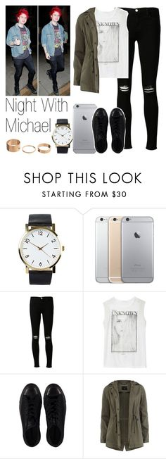 """""""Night With Michael"""" by the4dipshits ❤ liked on Polyvore featuring NLY Accessories, J Brand, Zara, Converse and Dorothy Perkins"""