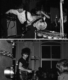 Echo and the Bunnymen, Dundee, early 1980s via
