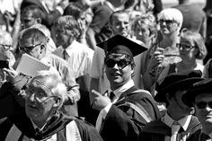 A face in the Crowd. George Donkin graduates,
