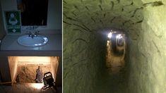 20 Secret Passageways And Hidden Rooms Hiding In Plain Sight Hidden Spaces, Hidden Rooms, Secret Rooms In Houses, Hidden Passageways, Secret Hiding Spots, Hiding Places, Stair Shelves, Panic Rooms, Secret Passage