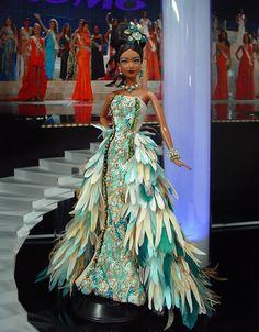 Miss Madagascar 2012 by Ninimomo Dolls